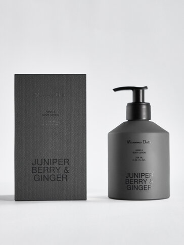 (250 ml) Juniper Berry & Ginger hand and body lotion