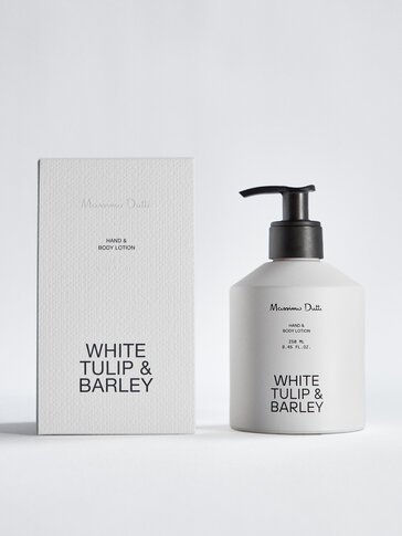 (250 ml) White Tulip & Barley hand and body lotion