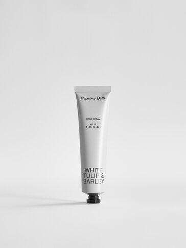 (40 ml) White Tulip & Barley hand cream