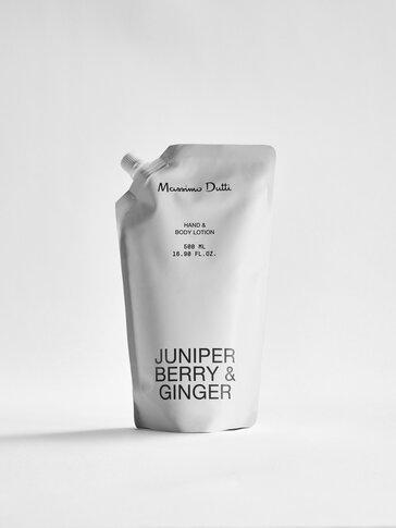 (500 ml) Refill crema de manos y cuerpo Juniper Berry & Ginger