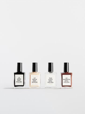 Manicure set Le Noir & Le Marron