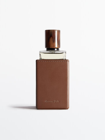 Housse de parfum en cuir