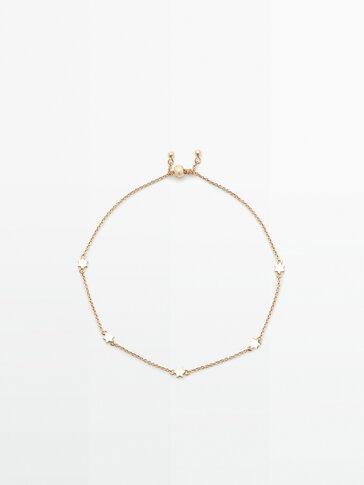 Bracelet étoiles plaqué or