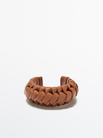 Woven leather bracelet Limited Edition