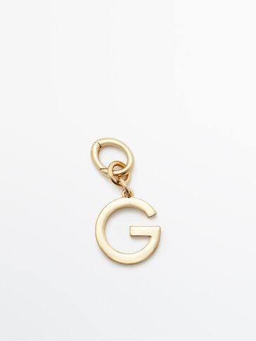 Позолочений підвісок із літерою G