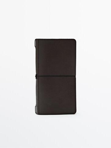 Kožna navlaka s bilježnicom i kalendarom Limited Edition
