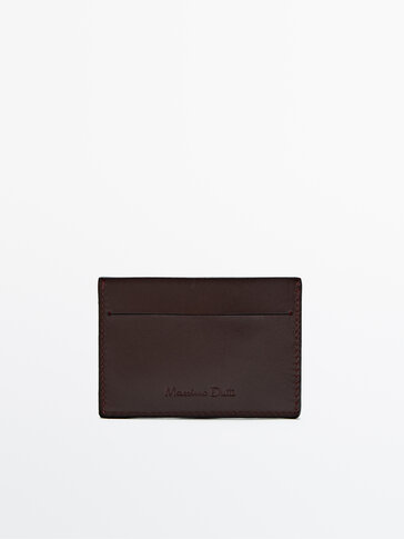 Leather card holder Limited Edition