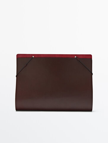A4 leather folder Limited Edition