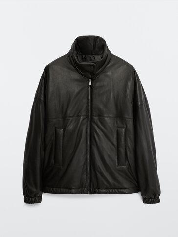 Bomber jakna od napa kože