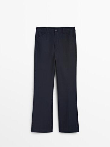 Παντελόνι casual kick flare