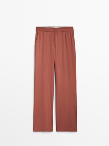 100% wool trousers Limited Edition