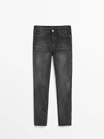 Pantalón micropana algodón slim fit