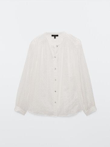Βαμβακερή πουκαμίσα plumeti