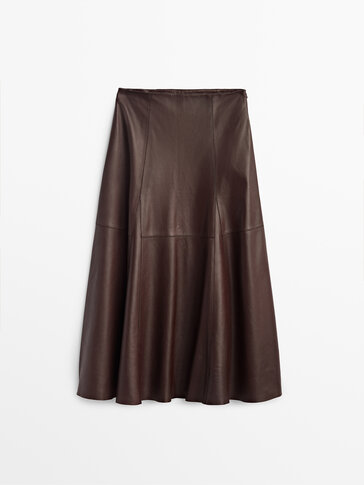 Nappa leather skirt Limited Edition