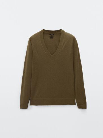 Jersey algodón lana y seda