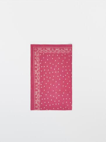Cotton head scarf