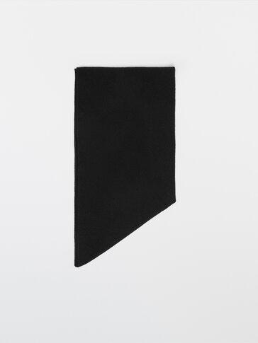 Écharpe triangulaire en laine cachemire