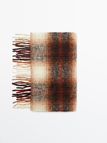 Écharpe en laine à carreaux Limited Edition