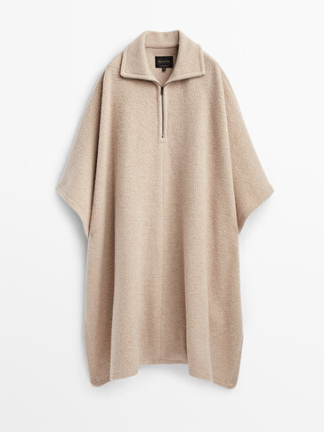 Cashmere wool cape Limited Edition
