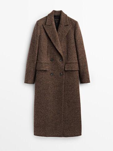 معطف طويل من الصوف إصدار محدود