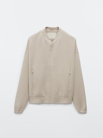 Pilotska jakna iz neoprena
