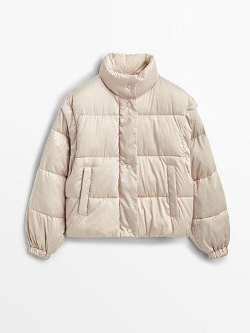 Puhasta jakna s snemljivimi rokavi
