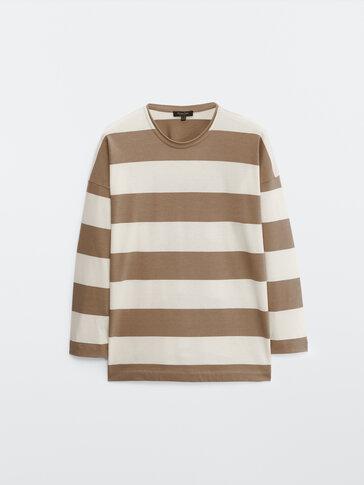 Camiseta rayas 100% algodón