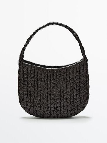Large woven shoulder bag - Limited Edition