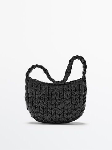 Small woven shoulder bag - Limited Edition