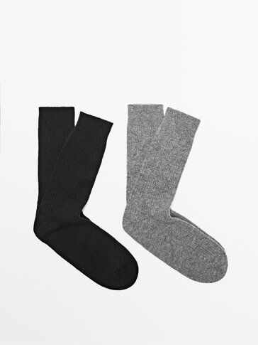 Pack of cashmere wool socks