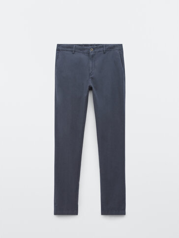 Jogging fit chino trousers