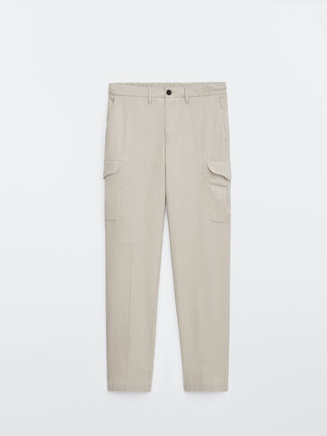 Jogging fit cargo trousers