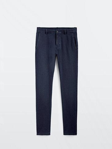 Miękkie spodnie jeansowe typu jogging