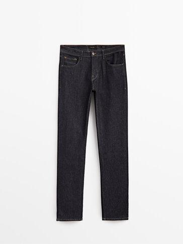 Regular fit desized jeans