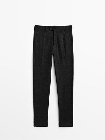 Vlnené oblekové nohavice Limited Edition