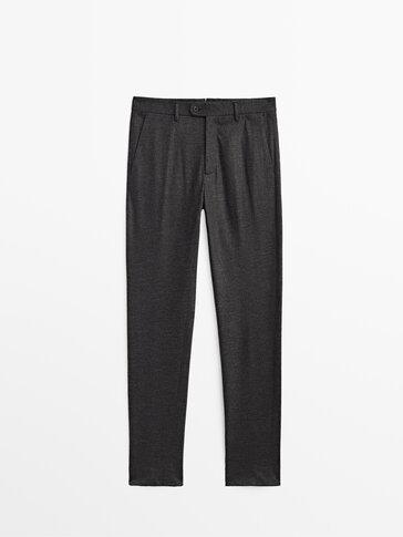 Wełniane spodnie od garnituru Limited Edition