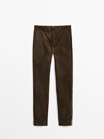 Sztruksowe spodnie Limited Edition