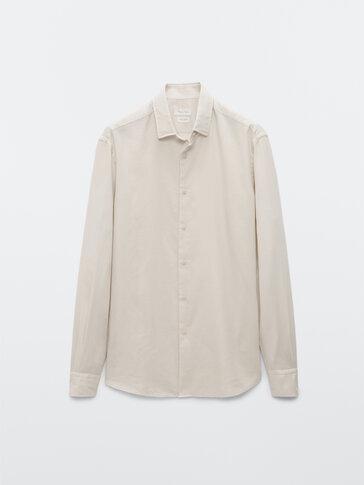Вталена риза от 100% памук