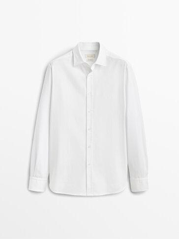 Koszula o kroju slim ze 100% bawełny