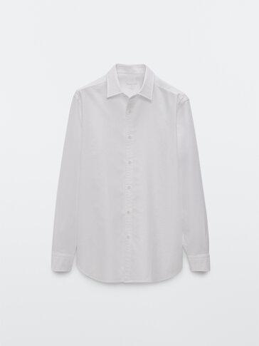 Košile oxford slim fit ze 100% bavlny