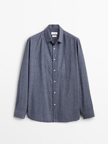 Camisa 100% cotó slim fit