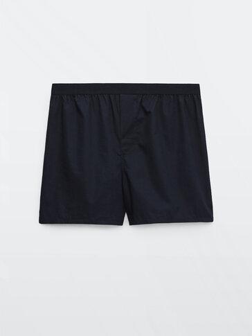 Poplin boxers