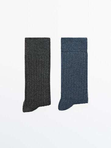 Fitilli pamuklu çorap paketi