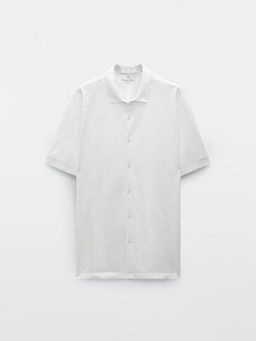 חולצת שרוול קצר מכותנה