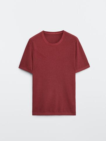 100% cotton knit T-shirt