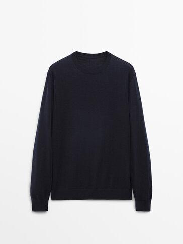 Sweater in 100% merino wool