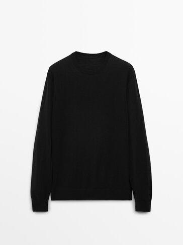Пуловер от 100% мериносова вълна
