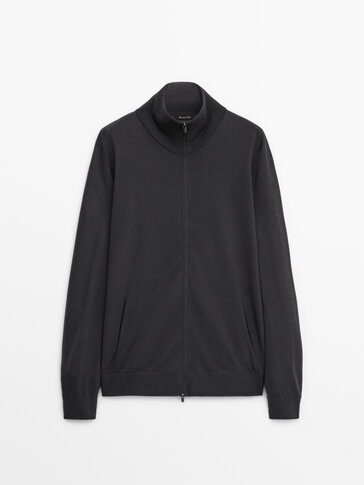 Cardigan 100% lana merino