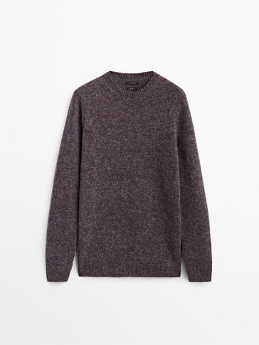 Pull en maille à col rond Limited Edition