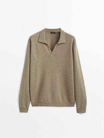 Jersey polo lana cashmere